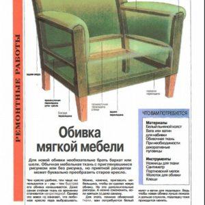 Оббивка мягкой мебели