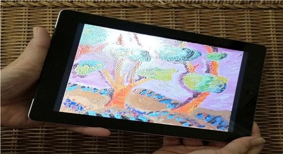 tangiView-осуществляет концепцию материальной визуализации на планшетном устройстве