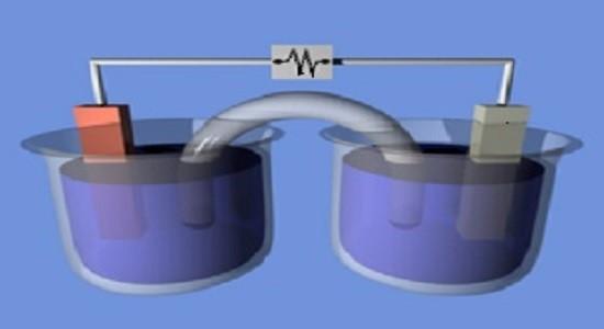 Технически, возможно хранить электричество путем разложения воды на молекулы водорода и кислорода  посредством процесса электролиза.