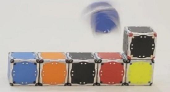 Построение кубиков роботов