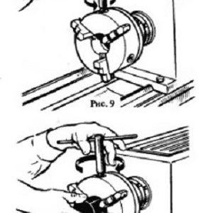 Установка и закрепление заготовок в трехкулачковом патроне